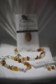 Bracelets de cornaline et quartz