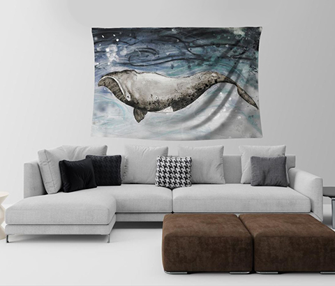 tapisserie murale baleine _web